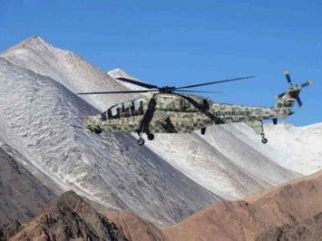 HAL LCH in Ladakh
