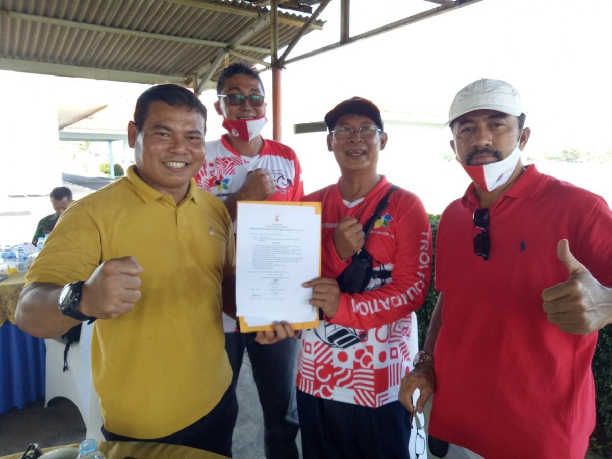 Paramotor FASI di Lanud Atang Sendjaja