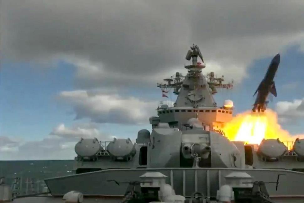 Latihan Perang AL Rusia dekat Alaska
