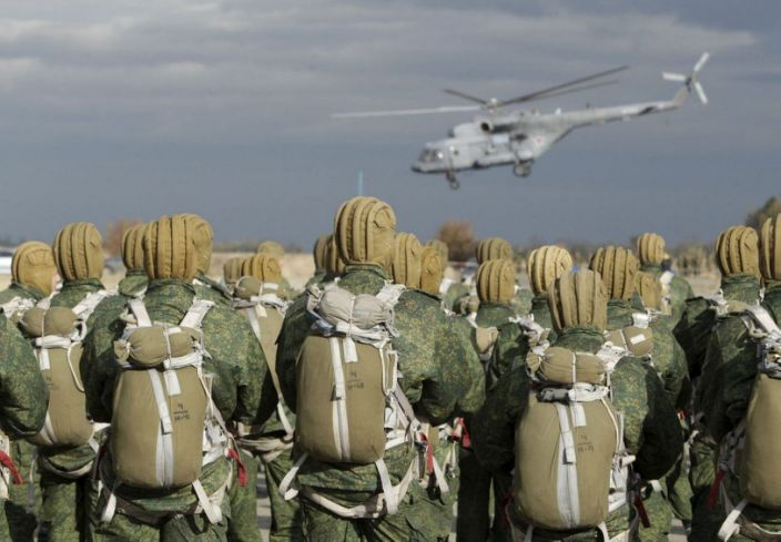 Pasukan Penerjun Rusia