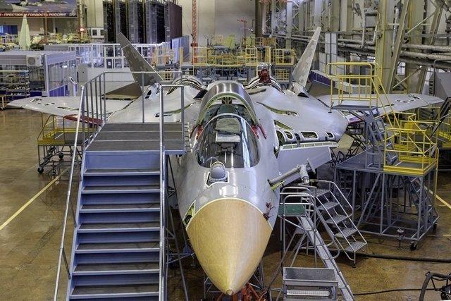 produksi Su-57