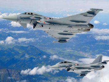 Austrian Eurofighter Typhoon