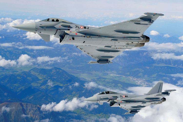 Austrian Eurofighter Typhoon
