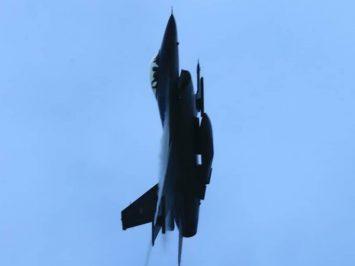 Dogfight F-16 Skadron Udara 3