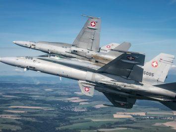 F/A-18 Hornet Swiss