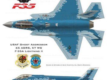 F-35A Skema Hantu