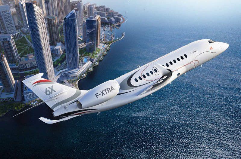 Belum terbang, Falcon 6X sudah meraih penghargaan desain interior terbaik