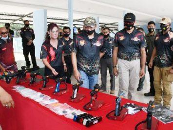 Ketua MPR dan Kasau hadiri kejuaraan menembak Wing I Paskhas
