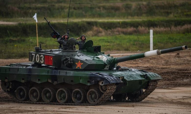Pasukan tank PLA