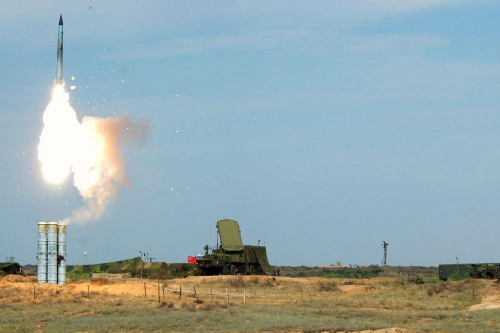 Peluncuran S-400 dari Pangkalan Militer Abkhazia