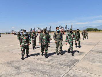 Pesawat Sukhoi tiba di Lanud Iswahjudi