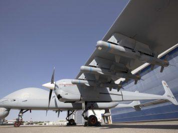 Drone Aksungur buatan Turki terbang 28 jam membawa 12 munisi MAM-L