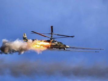 Uji penembakan Ka-52K