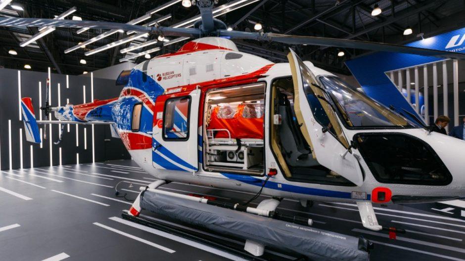 Tiga heli andalan Russian Helicopters dipamerkan di HeliRussia 2020