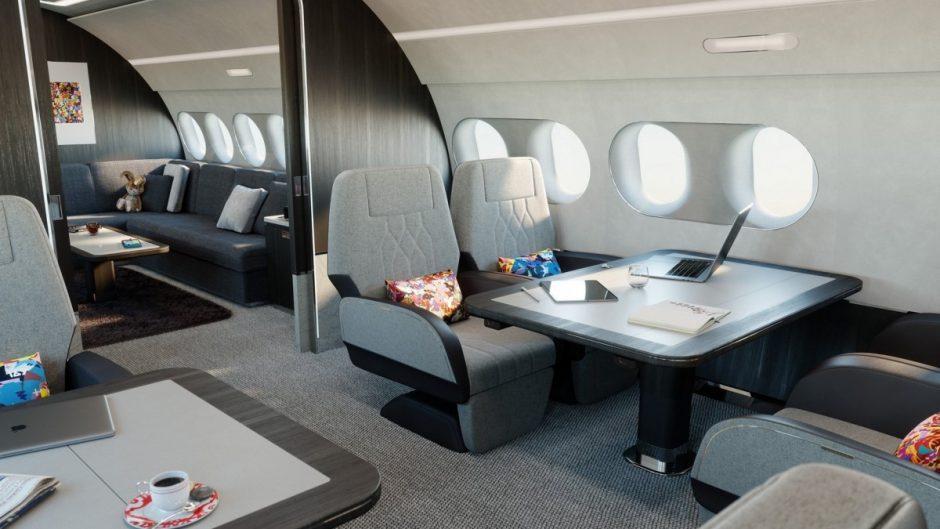 ACJ TwoTwenty, jet bisnis A220 berkabin luks dari Airbus