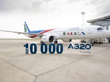Airbus A320 ke-10000