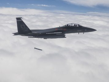 F-15E released stormbreaker bomb