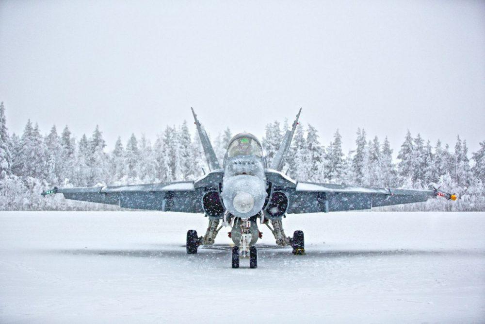FA-18C Hornet Finlandia