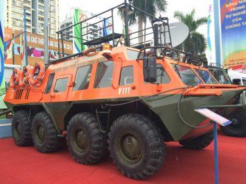 GAZ 59037A, kendaraan amfibi segala medan berbasis BTR-80