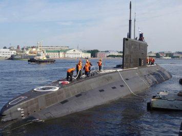Angkatan Laut Rusia operasikan kapal selam terbaru B-603 Volkhov