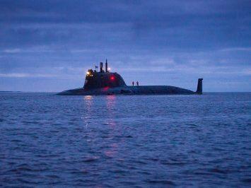 Kapal selam nuklir terbaru Rusia K-561 Kazan lulus uji di Laut Putih