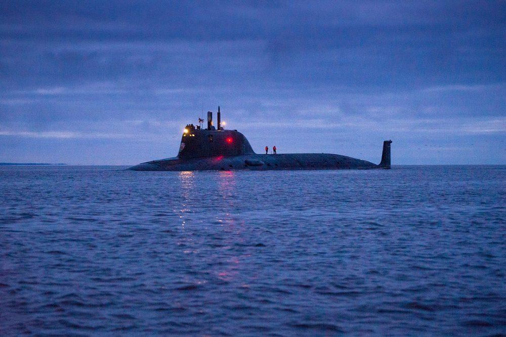 Kazan nuclear submarine