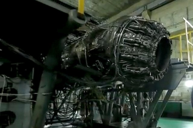 Mesin Tahap kedua Su-57