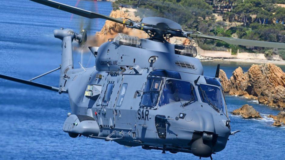 Angkatan Udara Spanyol telah menerima satu helikopter NH90