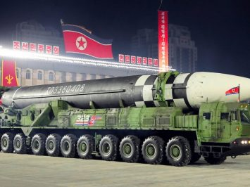 Rudal ICBM Korea Utara terbaru
