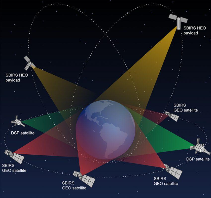 SBIRS Satellite
