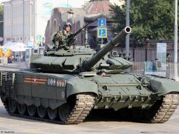 30 tank T-72B3M melengkapi Armada Baltik Rusia