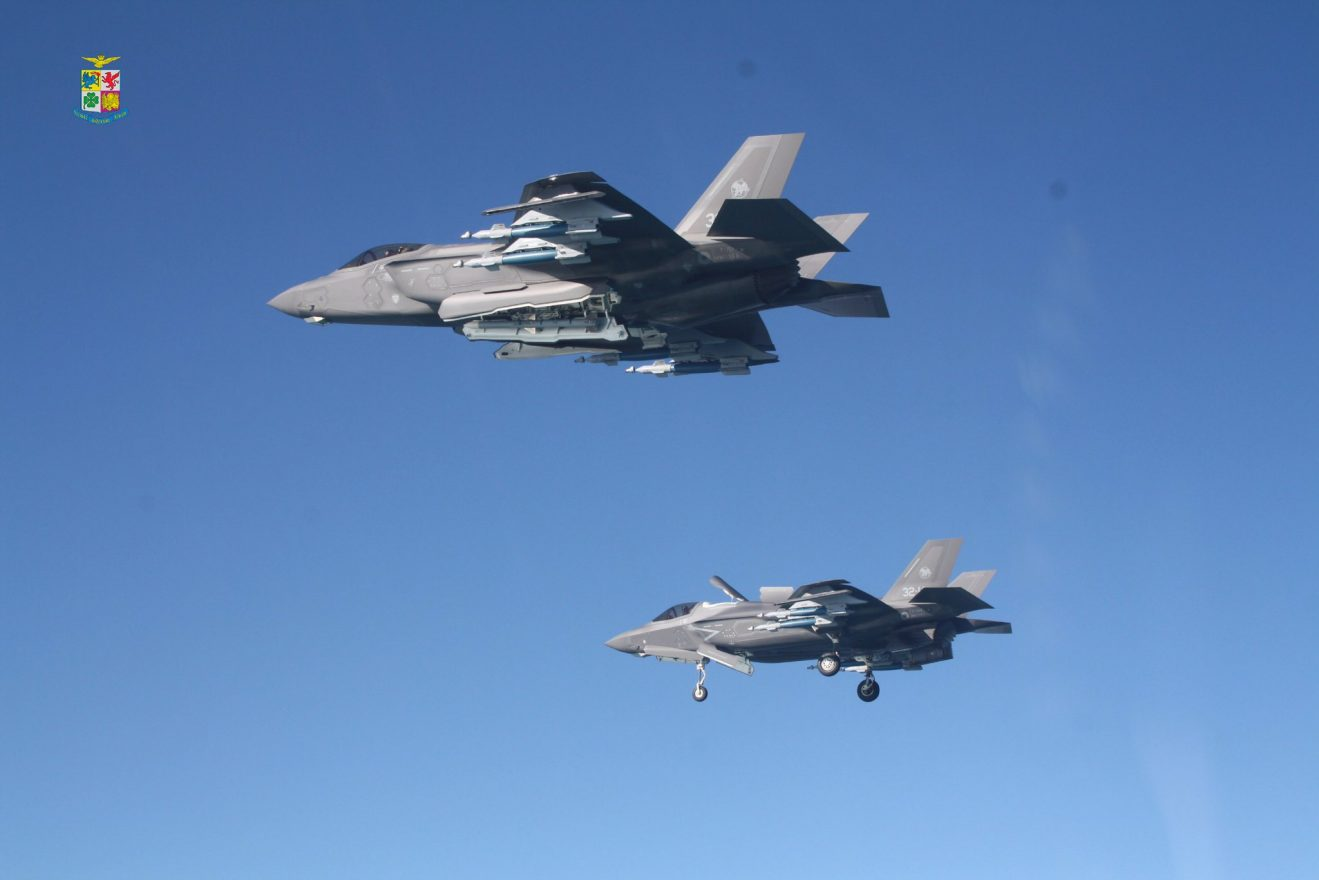 F-35A and F-35B of Italian Air Force
