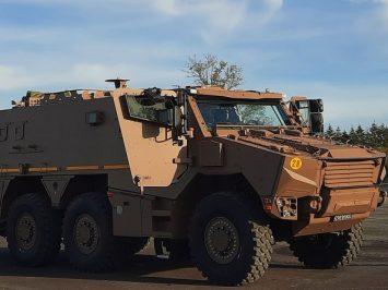 Griffon EPC, kendaraan Pos Komando untuk Angkatan Darat Perancis
