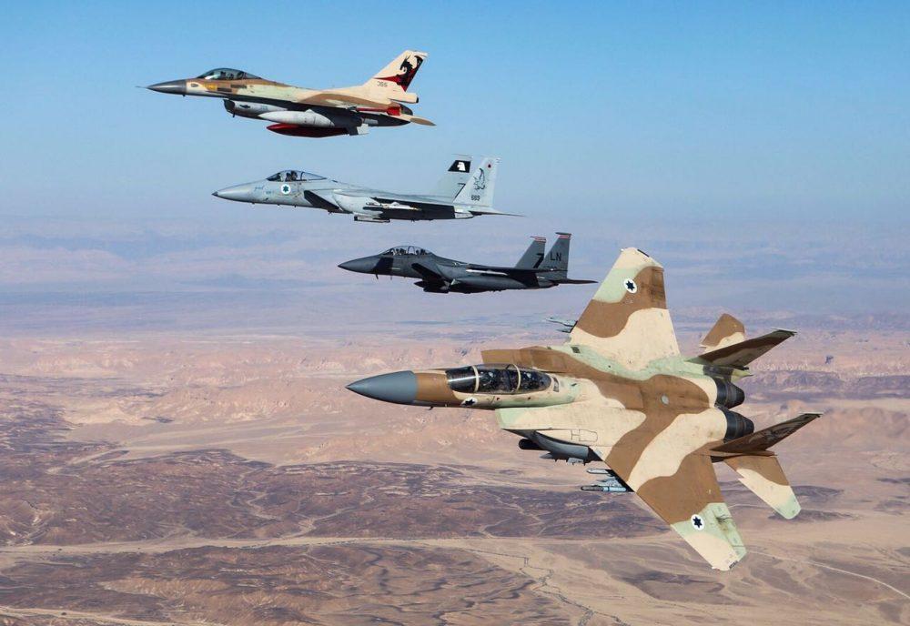 Jet-jet tempur Israel