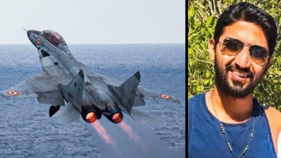 MiG-29K dan pilot yang hilang