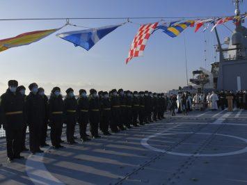 Kapal patroli ketiga Proyek 22160 Pavel Derzhavin mulai berdinas di AL Rusia