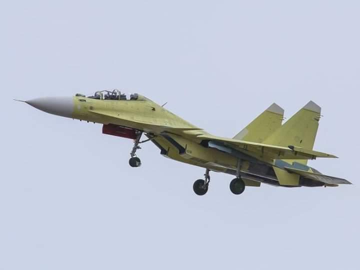 Su-30SM Myanmar