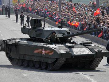 T-14 Armata dibandingkan dengan tank-tank nomor satu AS dan NATO