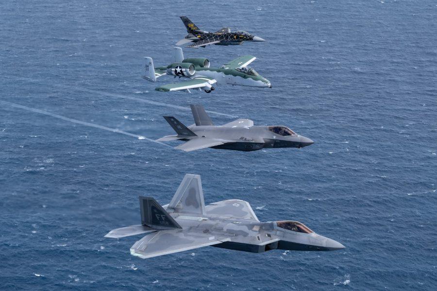 Tim Demonstrasi Pesawat Tunggal Komando Tempur USAF