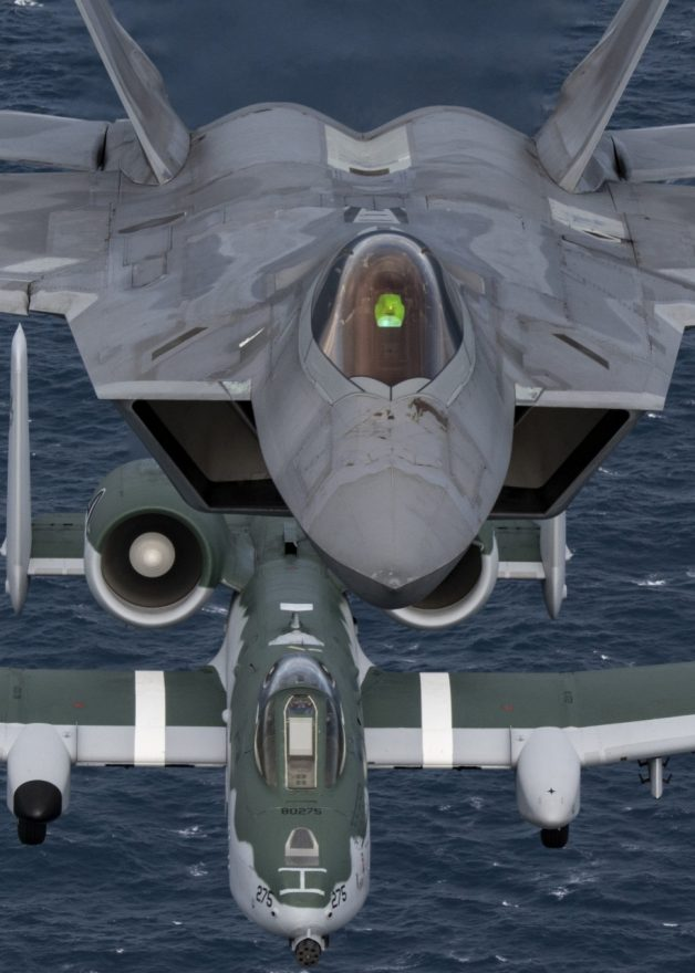 Tim Demonstrasi Pesawat Tunggal Komando Tempur USAF_3