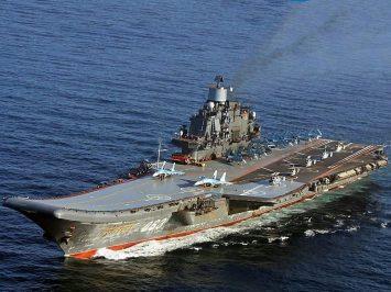 Uji coba kapal induk Rusia Admiral Kuznetsov akan dimulai pada 2022