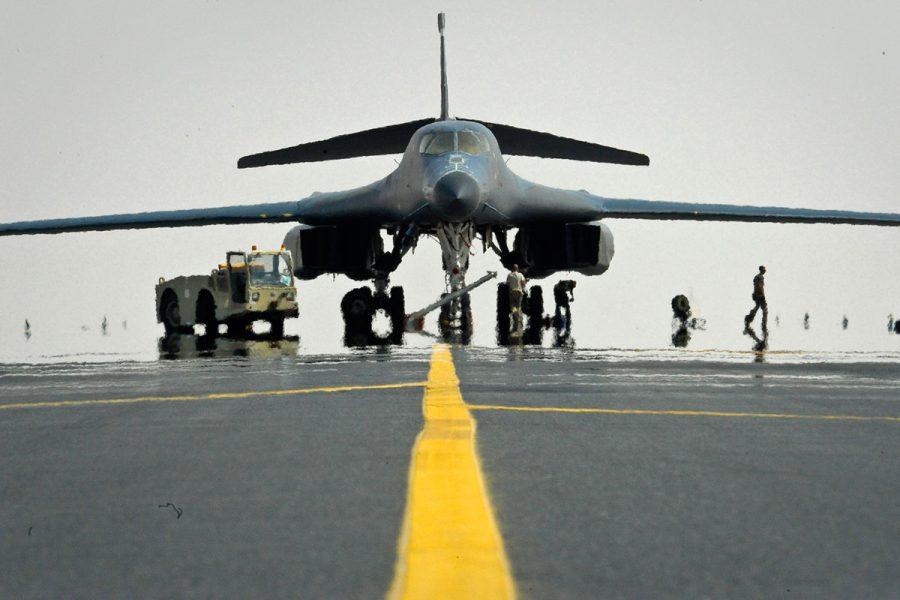 B-1B strategic bomber