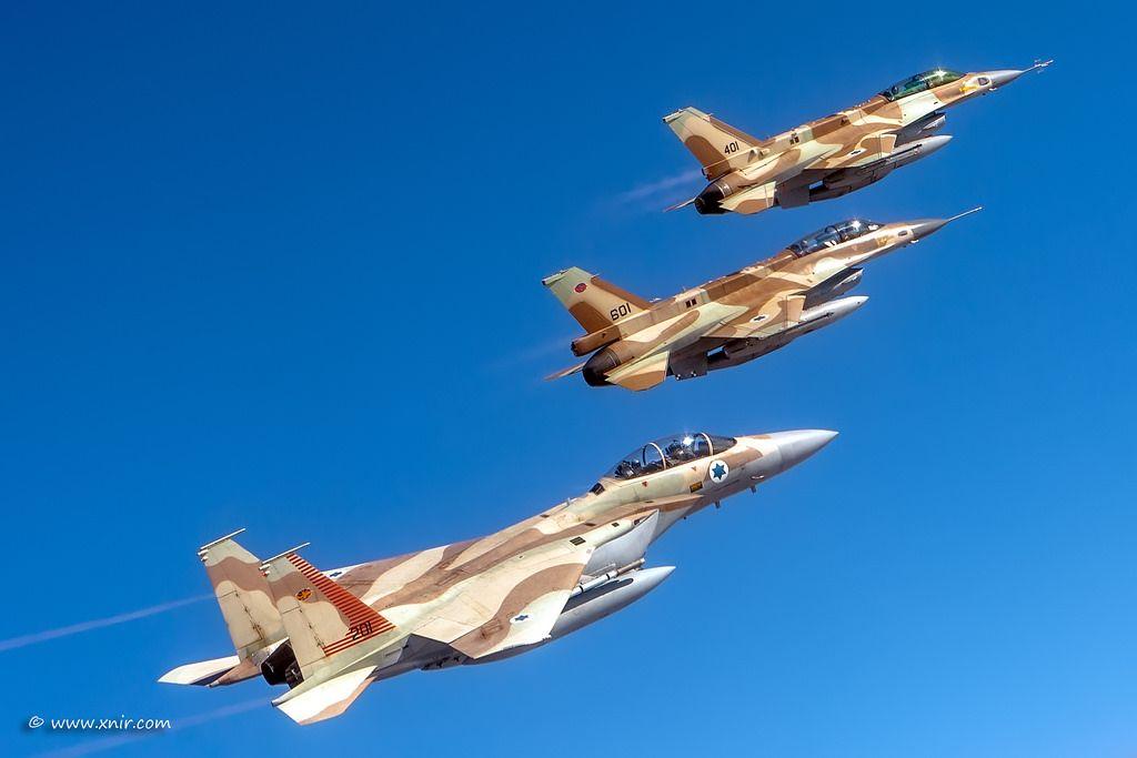 F-15 dan F-16 Israel
