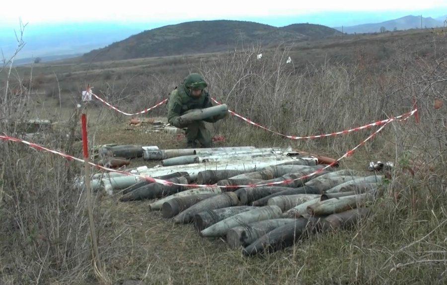 Pasukan Rusia bersihkan ranjau di nagorno-karabakh