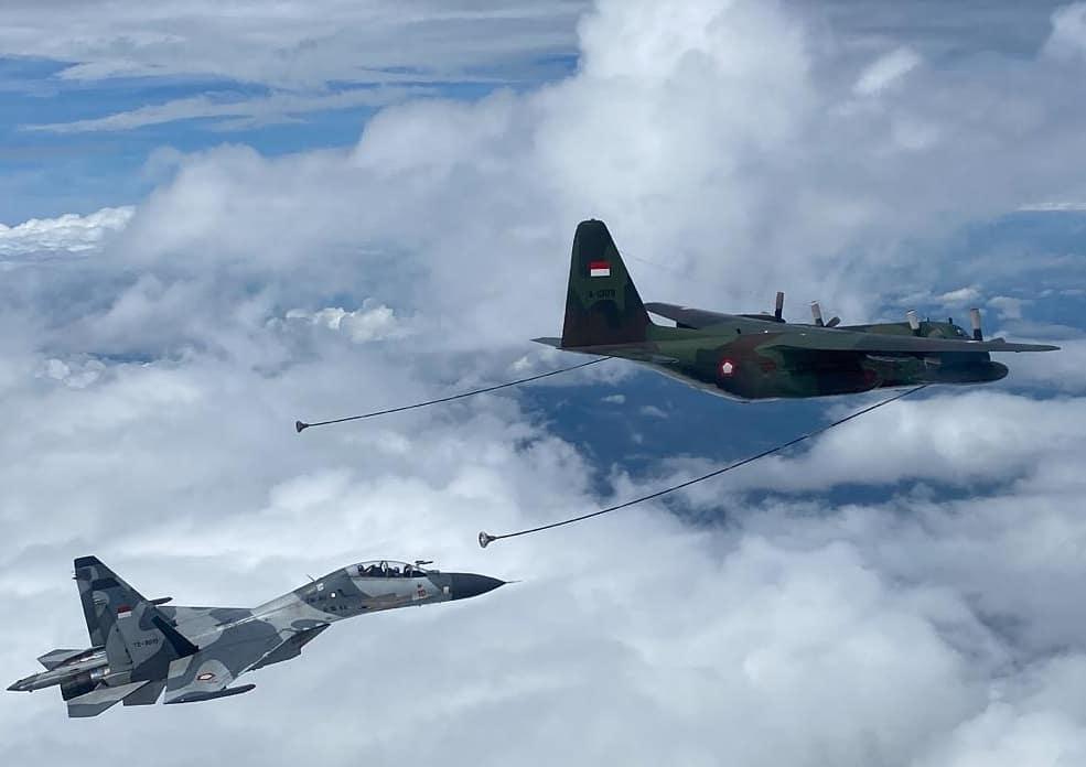 Su-30MK2 TS-3010 AAR