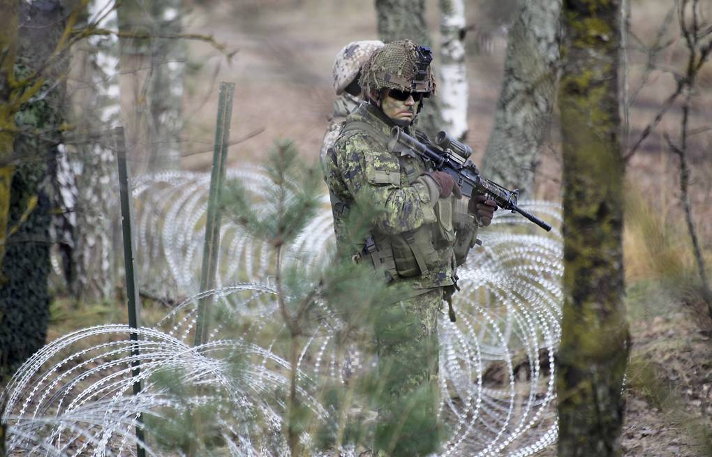 tentara multinasional di Latvia