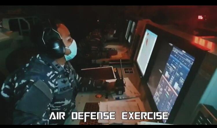 Air defense Exercise