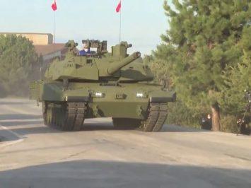 Tampilan baru Altay MBT buatan BMC Turki