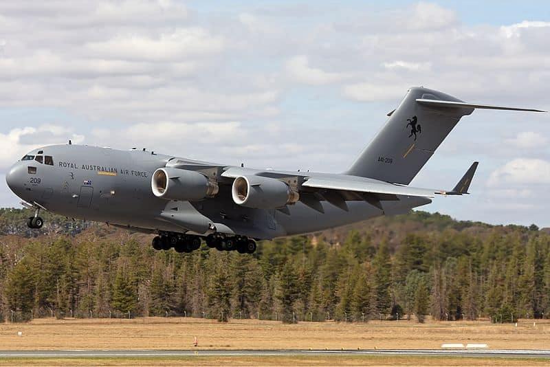 C-17 Globemaster milik RAAF_