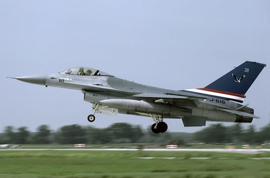 F-16AM J-616 RNLAF